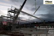FABRICACION Y MONTAJE DE ESTRUCTURAS METALICAS HIPERBODEGA PRECIO UNO  IQUITOS - LA MARINA