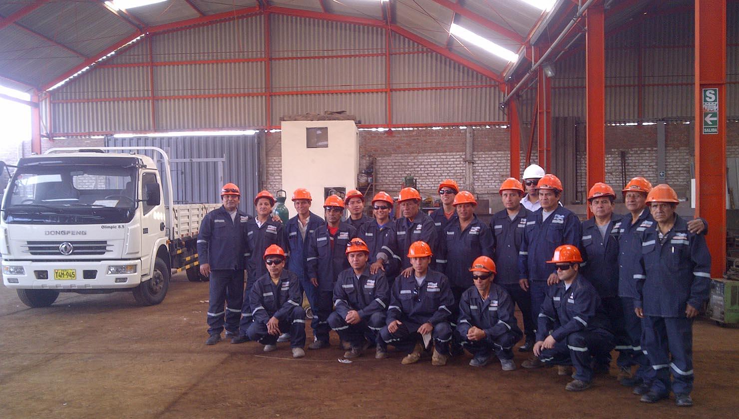 Staff Steelwork